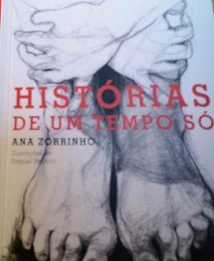 Capa livro Ana Zorrinho Histórias de Um tempo só