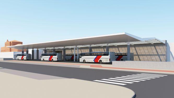 Novo terminal rodoviário Setúbal